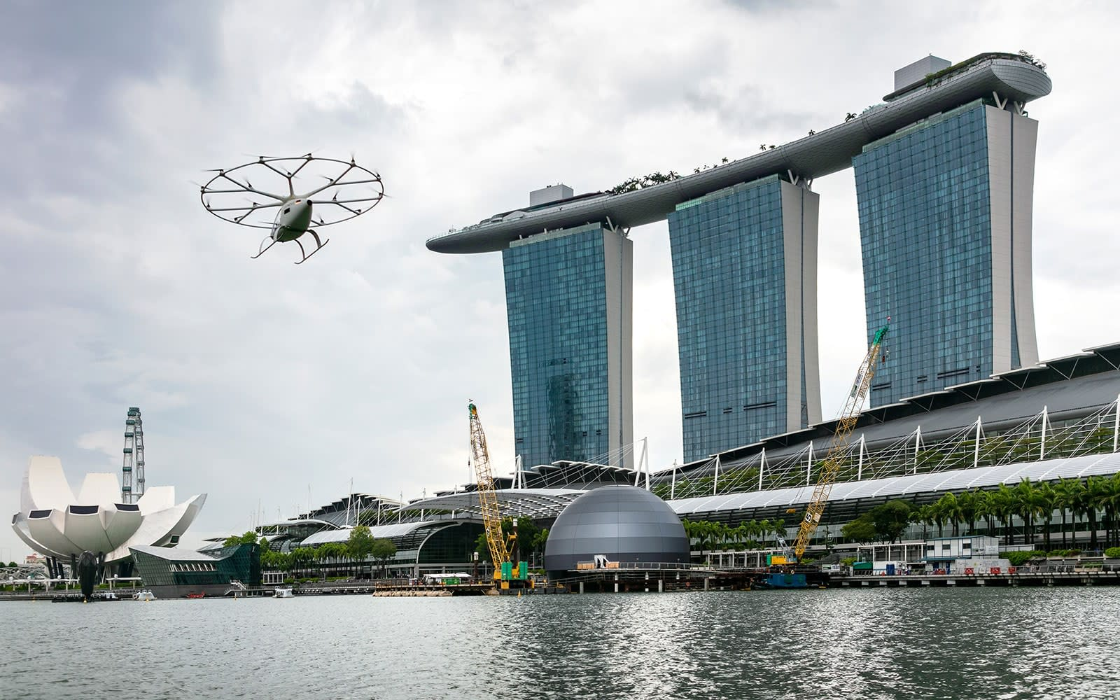Volocopter 2X in Singapore