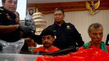 Five foreigners - including one Brit - 'could face death penalty' after being held for drug smuggling in Indonesia