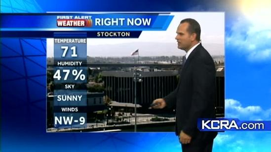 Dirk's Forecast: Chance for rain in NorCal?