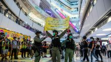 Hong Kong police help #HKIndependence trend on Twitter