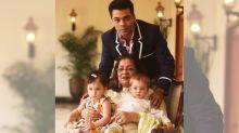 Inside Pics: Karan Johar Throws a Retro-Themed B'day Party for Mom