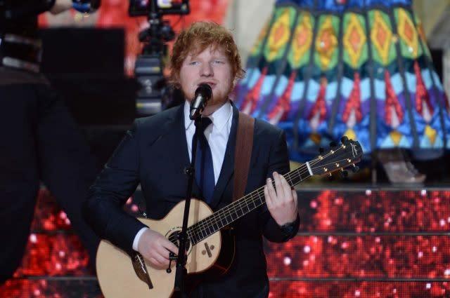 Ed Sheeran, Kendrick Lamar take top honors at US Billboard Music Awards