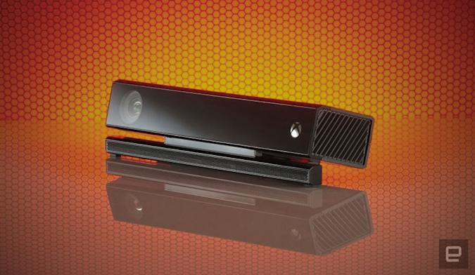 Microsoft Kinect motion tracer.