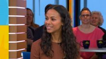 Zoe Saldana doesn't want to do play dates with your kids