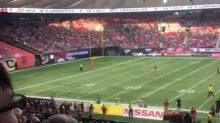 BC Lions' Marcell Young Body-Slams Man Who Ran Down Field With No Pants