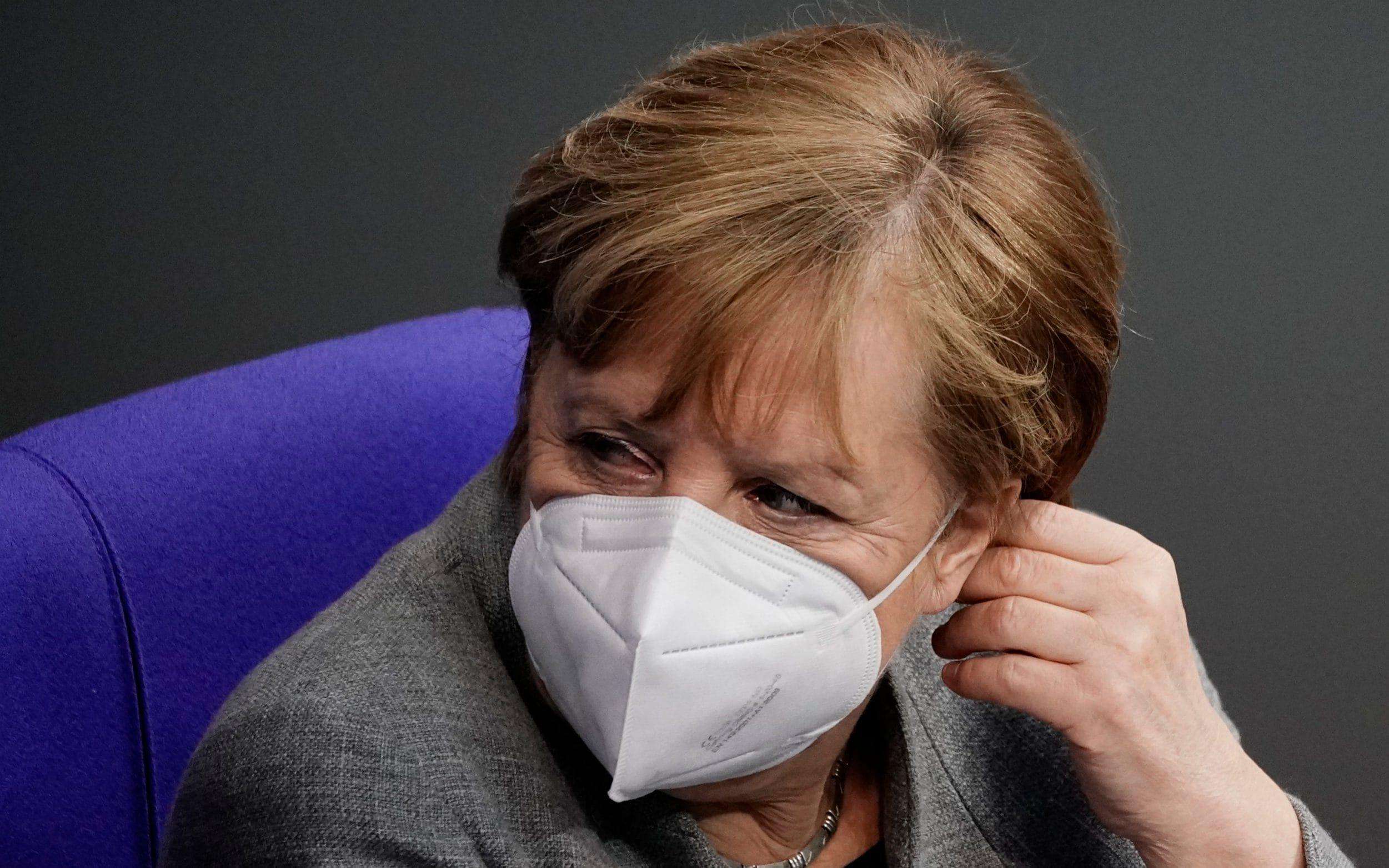 Merkel admits vaccine shortage amid slow roll-out across Europe