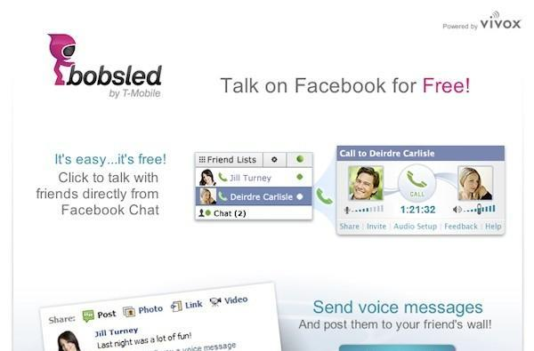 T-Mobile's Bobsled brand launches with free Facebook voice calls, much more promised soon