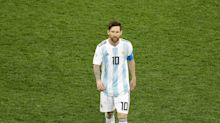 Nach WM-Pleite gegen Frankreich: So spottet das Netz über Lionel Messi