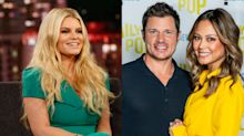 Nick and Vanessa Lachey deny Jessica Simpson's story they sent her a gift: 'I don't know her address'