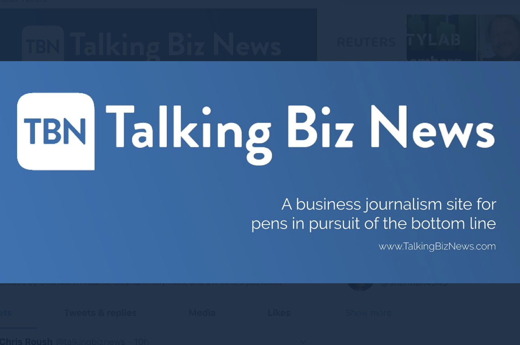 When business journalists become the product