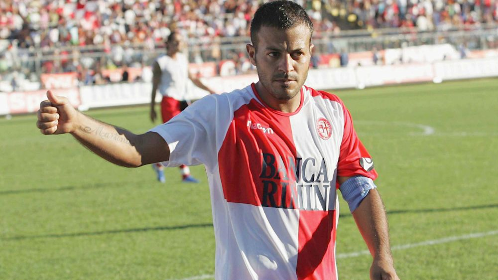 Si ritira Ricchiuti, il primo a segnare alla Juventus in Serie B