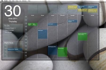 Blotter for Mac puts iCal on your desktop