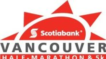 MEDIA ALERT/Photo-Op: The Scotiabank Vancouver Half Marathon and 5k to take place for 20th year on Sunday