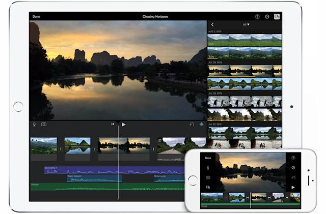 iMovie for iOS is ready to handle your 4K video editing