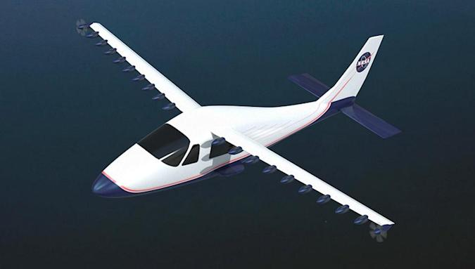 NASA is testing its far-out electric plane concept