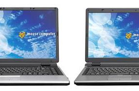 Mouse Computer's LuvBook and m-Book laptops for Japan