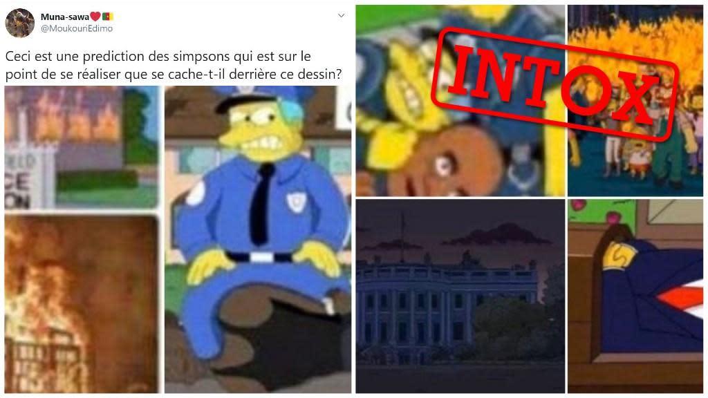 Simpsons George Floyd