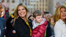 Savannah Guthrie shares a sweet photo with her son as she recovers from eye surgery