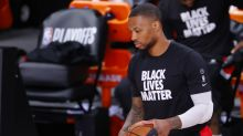 Damian Lillard to leave bubble for further examination of injured right knee
