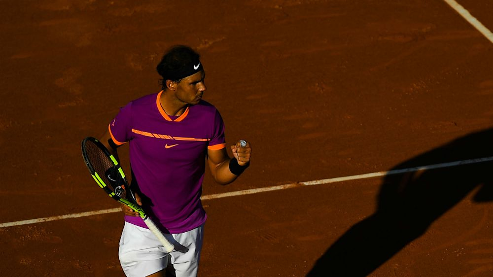 Nadal cruises into 10th Barcelona final