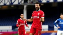 Tendangan Mematikan Salah Bikin Liverpool Sementara Kangkangi Everton