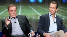 Al Michaels, Cris Collinsworth seem unhappy officials 'compelled' them to wear masks on SNF