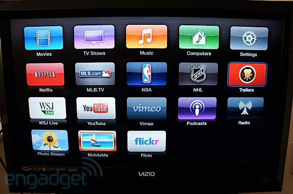 Apple TV software update brings new interface to second-gen models