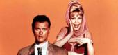 "Larry Hagman and Barbara Eden starred in ""I Dream of Jeannie."" (United Archives/Getty Images)"