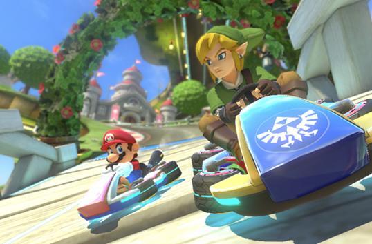 Nintendo's new 'Mario Kart 8' add-ons put Link and Luigi on the same track