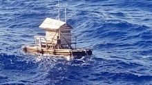 Teen survives for more than a month at sea in a 'fishing hut'