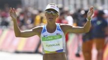 American distance runner Flanagan gets silver medal from 2008 Olympics