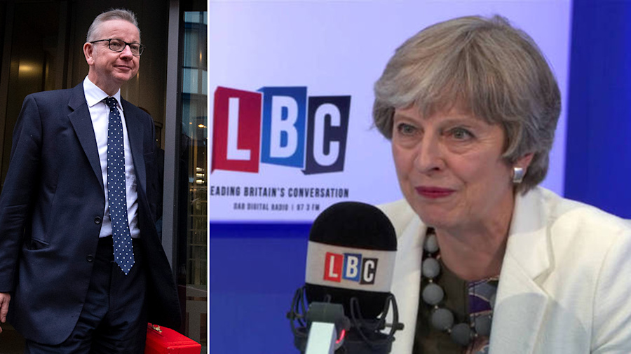 May's future more uncertain than ever as she's told to quit live on air