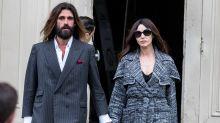 Monica Bellucci hace su primera aparición pública con su nuevo novio