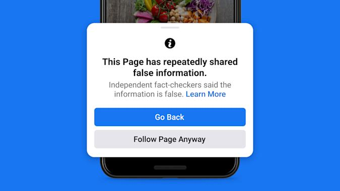 Facebook will punish users who repeatedly share misinformation.