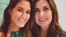 """Fátima Bernardes se confunde e usa roupa da filha no trabalho: """"Guardei errado"""""""