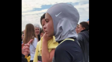 High school athlete disqualified at cross-country meet for wearing hijab
