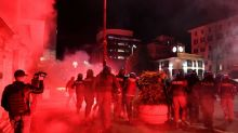 Italy protesters, police clash over virus curbs as countries battle case surges