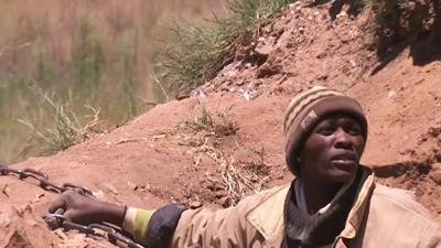 Rescued Miners in South Africa Face Charges