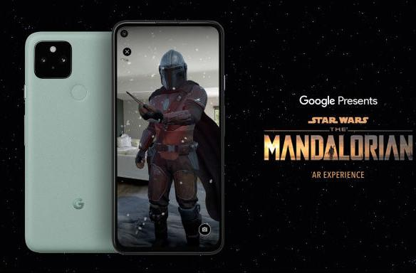 Google's next AR app puts the Mandalorian in your living room