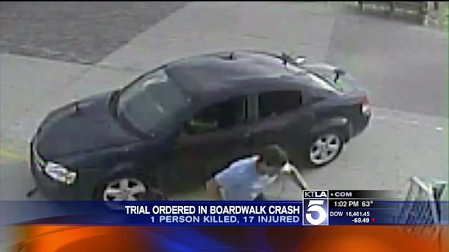 Suspect in Venice Boardwalk Crash Ordered to Stand Trial