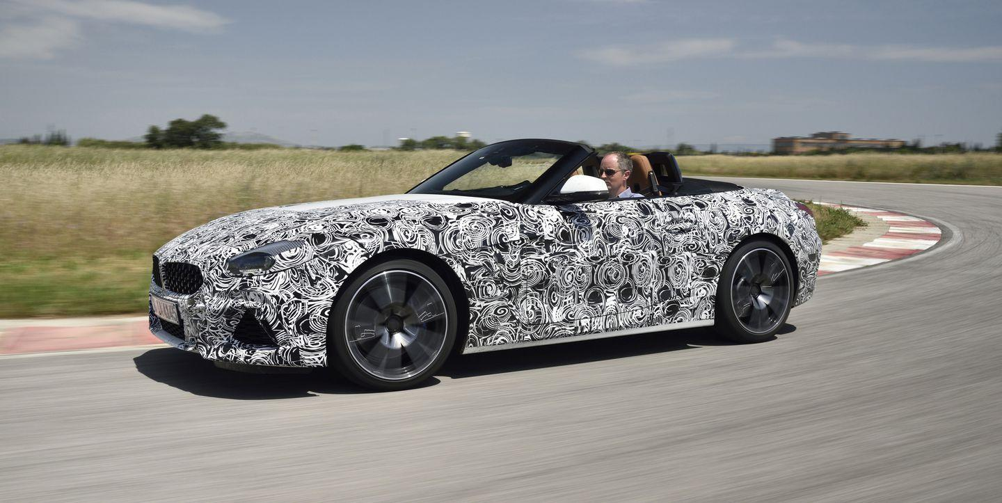 All New Bmw Z4 Prototype Driven The Supra S German Brother