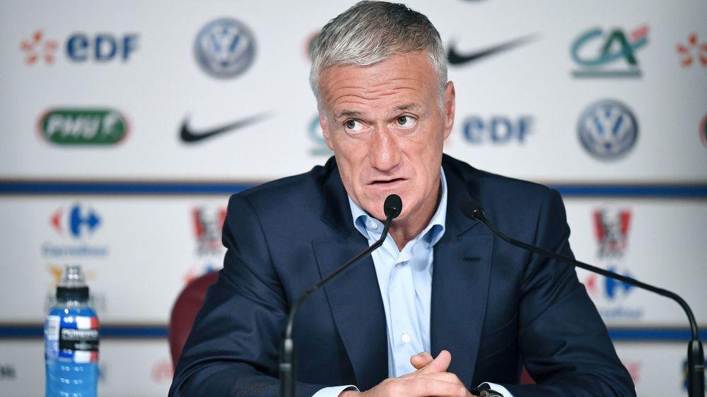 """Équipe de France - Didier Deschamps : """"Les situations de Dembélé et Mbappé sont différentes"""""""