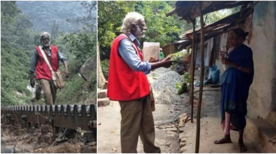 Postman, 66, walks 15 kms everyday for 30 yrs; retires