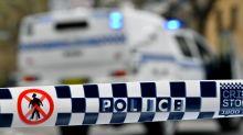 Man found alight outside Perth church
