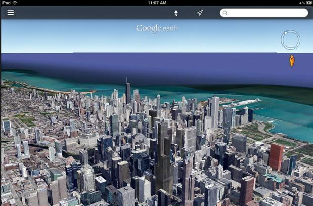 Google Earth update brings Street View and streamlined interface to iOS