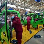 Stocks climb to fresh records as China posts blowout Q1 growth