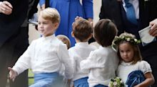 Prince George & Princess Charlotte Steal the Show with Cute Antics at Family Friend's Wedding