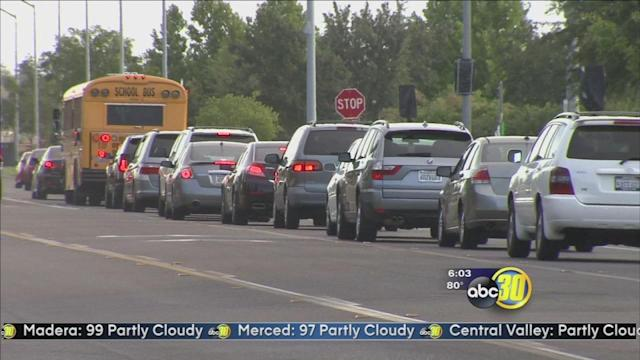 Back to school mean additional air pollution