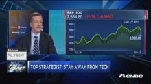 A tech correction is coming, says Morgan Stanley's top st...
