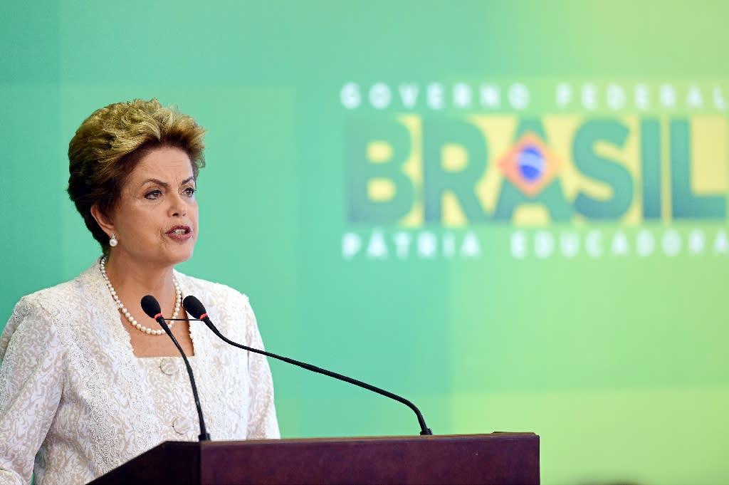 Brazil president reshuffles cabinet to avert disaster